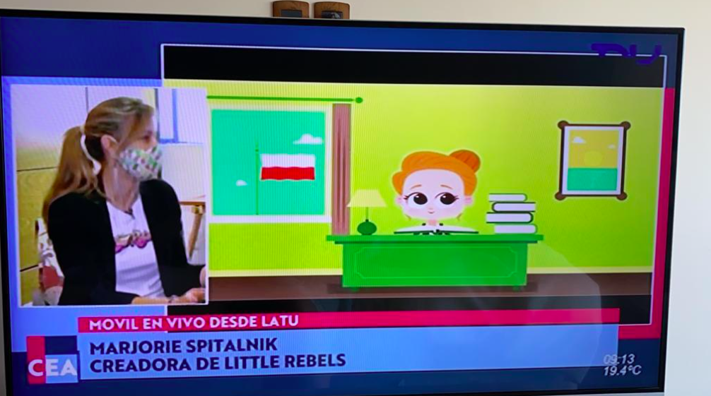 Entrevista a Little Rebels para TNU