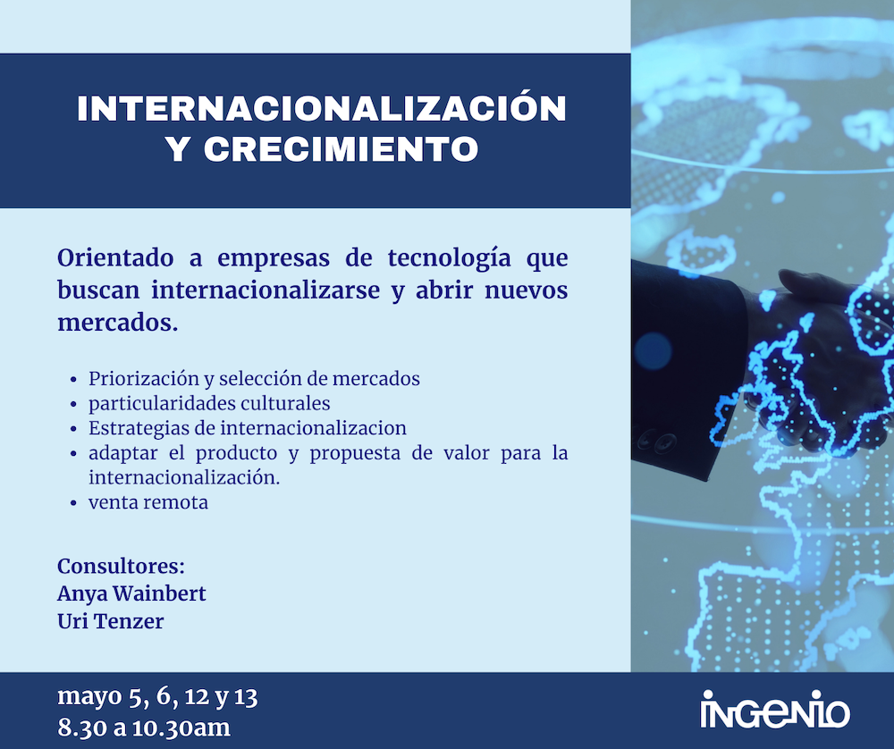 Internacionalización y Crecimiento