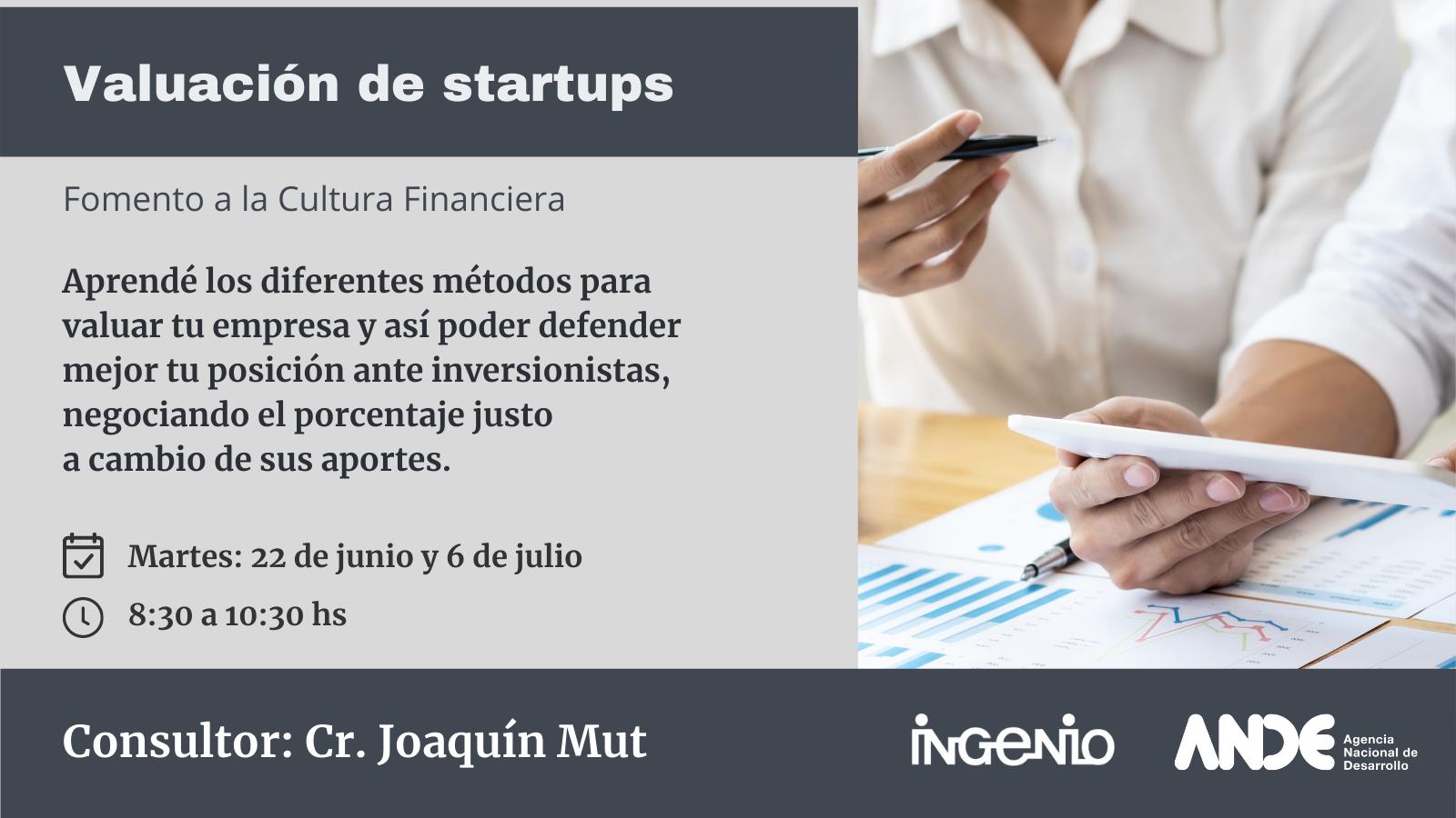 Valuación de startups