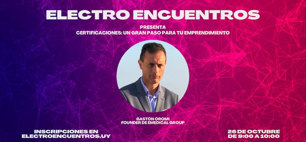 Electro Encuentros presenta: Certificaciones